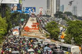 PROYEK INFRASTRUKTUR JAKARTA : Jembatan Pancoran Siap…