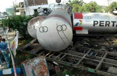 Kereta Api Tanker Anjlok, Distribudi BBM Tetap Aman