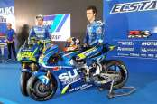 2 Pebalap Suzuki Ecstar MotoGP Bakal Jumpa Fans di Sirkuit Sentul