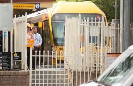 Kereta Api Hantam Pembatas di Sydney, 15 Terluka