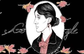 Virginia Woolf, Penulis Novel yang Bunuh Diri, Muncul di Google Doodle