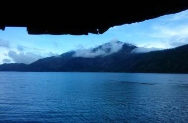 Keindahan Danau Batur Terancam Sedimentasi1.993 meter kubik per tahun