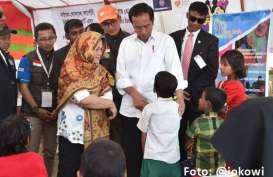 Kamp Pengungsi Rohingnya, Jokowi: Saya Bangga Masyarakat RI dengan Ikhlas Memberikan Bantuan