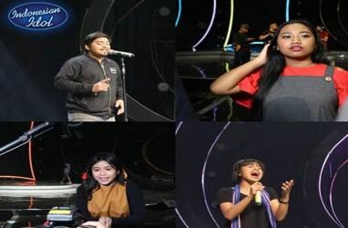 INDONESIAN IDOL: Ini Lagu Yang Dinyanyikan Abdul, Maria, Jodie, Mona