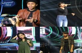 INDONESIAN IDOL: Marion Bawakan Lagu Firasat Marcell, Kevin Lagu Sadis Afghan