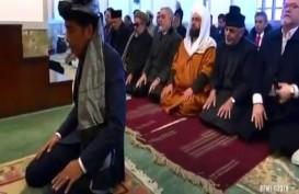 Awal Cerita Presiden Jokowi Jadi Imam Salat di Afghanistan