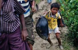 Lima Kuburan Massal Muslim Rohingya Ditemukan di Myanmar