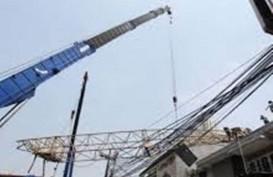 Crane Proyek Kereta Cepat Jakarta-Bandung Roboh di Jatinegara. Empat Tewas, Satu Luka
