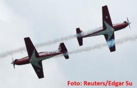 Berpesawat Baling-baling, Ini Aksi Tim Jupiter TNI AU di Singapore Airshow