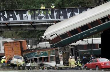 Ini Daftar Kecelakaan Kereta di AS Yang Menelan Korban