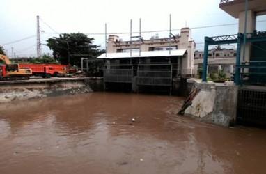 Bendung Katulampa Hanya Siaga III, Air di Manggarai terus Naik