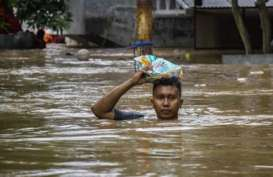 BANJIR JAKARTA : Dapur Umum dan 81 Kampung Siaga Bencana Diaktifkan