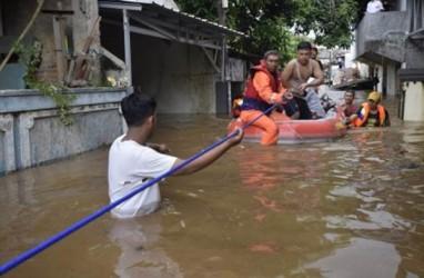 11.450 Jiwa Terdampak Banjir Jakarta, 6.532 Jiwa Mengungsi