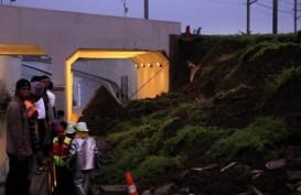 AREA BANDARA SOEKARNO-HATTA : Dinding Ambruk Akibat Gagal Konstruksi