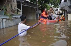 Wagub Sandi dan Wakil Ketua DRPD DKI Bahas Penanggulangan Banjir