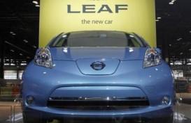 Wow, Mobil Listrik Nissan Aman Banjir