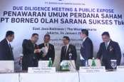 Borneo Olah Sarana (BOSS) Tetapkan Harga IPO Rp400