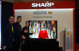 Perkuat Pasar Televisi, Sharp Electronics Indonesia Akan Bawa Teknologi 8K ke Indonesia