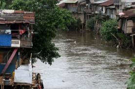 Normalisasi Ciliwung : Dinas Tata Air Anggarkan Rp1,3…