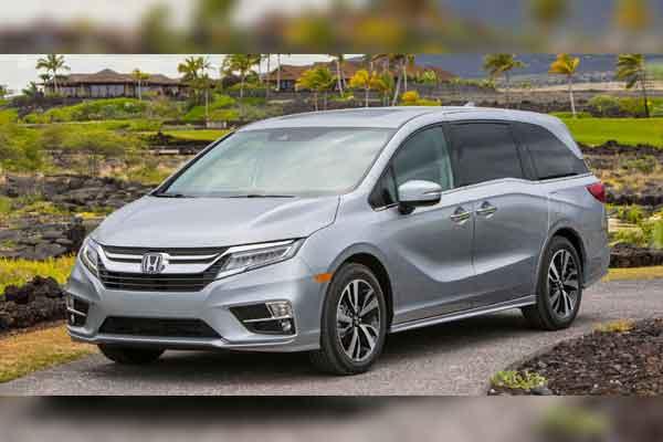 Honda Odyssey.  - Honda