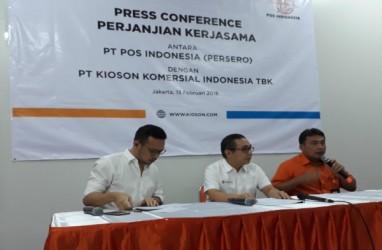 Kolaborasi dengan PT POS, Kioson (KIOS) Siapkan Investasi Rp1 Miliar