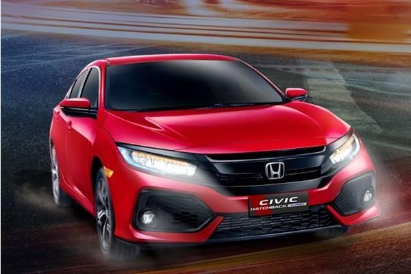 Honda Civic Hatchback Turbo. - honda/indonesia.com