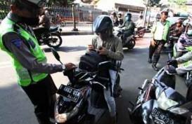Langgar Marka, Ratusan Pemotor Kena Tilang di Jalan M.H. Thamrin
