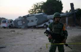 Korban Tewas Kecelakaan Helikopter di Meksiko Bertambah Menjadi 13 Orang