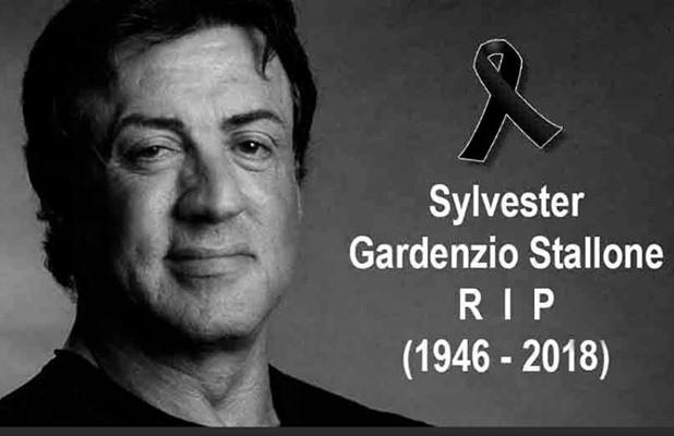 Hoax Sylvester Stallone - Facebook