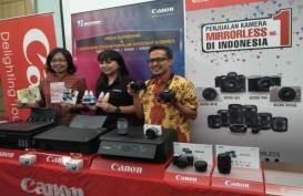KAMERA DIGITAL : Canon Perluas Pasar Mirrorless