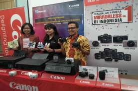 KAMERA DIGITAL : Canon Perluas Pasar Mirrorless