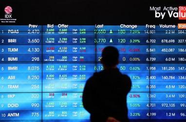TRANSAKSI SAHAM 23 FEBRUARI: Asing Catat Net Sell Rp193,22 Miliar