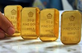 Penjualan Emas Antam di Semarang Lesu