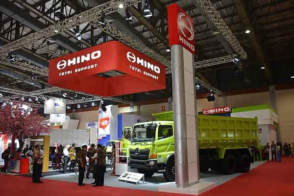 Stan Hino Motors di Giicomvec 2018.