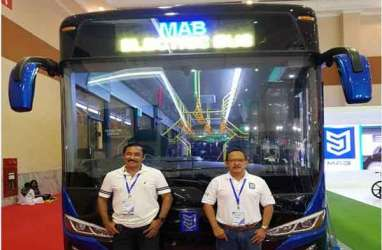GIICOMVEC 2018: Bus Listrik MAB Terjual 200 Unit Senilai Rp700 Miliar