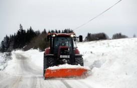 Badai Salju 'Beast From the East' Telan Korban Nyawa 14 Orang