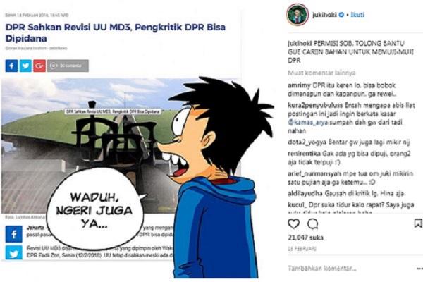 Instagram Si Juki jukihoki -