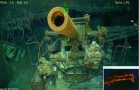 Wow, Kapal USS Lexington Ditemukan Setelah 76 Tahun Hilang