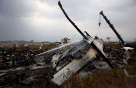 Pesawat Jatuh Terbakar di Nepal, Setidaknya 50 Orang Tewas