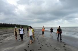 Setahun, Abrasi Pantai Cemara 25 Meter