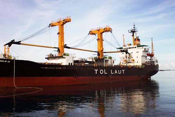 Ilustrasi kapal yang termasuk program tol laut - Antara/Kornelis Kaha