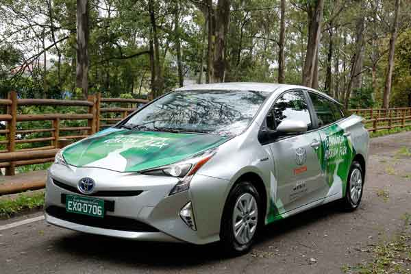 Toyota FFV Hybrid. - Toyota
