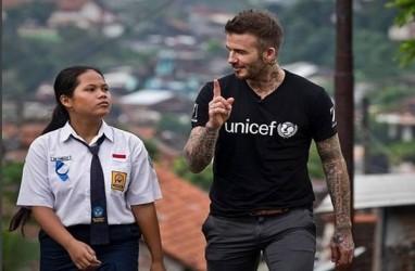David Beckham Sebut Siswa SMP dari Indonesia Sebagai Inspirator