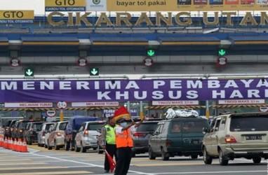 82.000 Kendaaran Melintasi Gerbang Tol Cikarang Utama