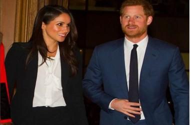 Taburan Bunga Peony dan Mawar Putih di Pernikahan Meghan Markle dan Pangeran Harry