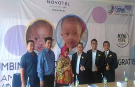 Ultah Novotel Pekanbaru, 40 Anak Dapat Operasi Bibir Sumbing Gratis
