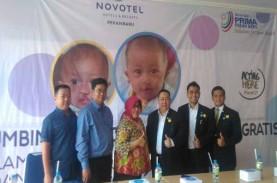 Ultah Novotel Pekanbaru, 40 Anak Dapat Operasi Bibir…