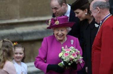Ratu Elizabeth, William, dan Kate Middleton Rayakan Paskah di Kastil Windsor