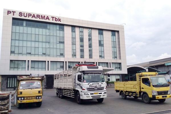Gedung kantor PT Suparma Tbk. - JIBI/Wahyu Darmawan