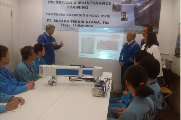 Bukaka Teknik Utama menggelar pelatihan untuk teknologi produk garbarata - Stefanus Arief Setiaji